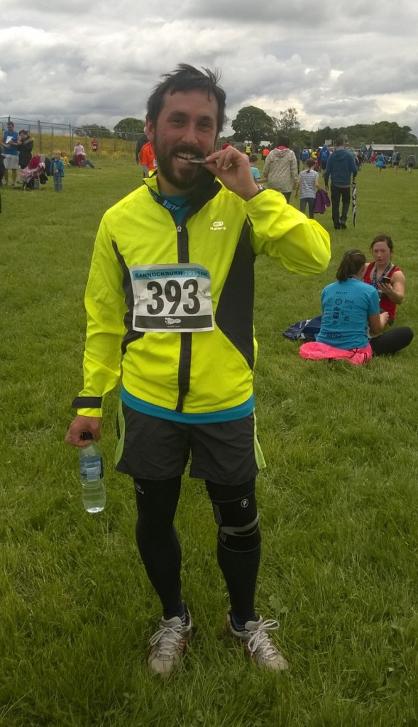 A shattered me after my first 10k