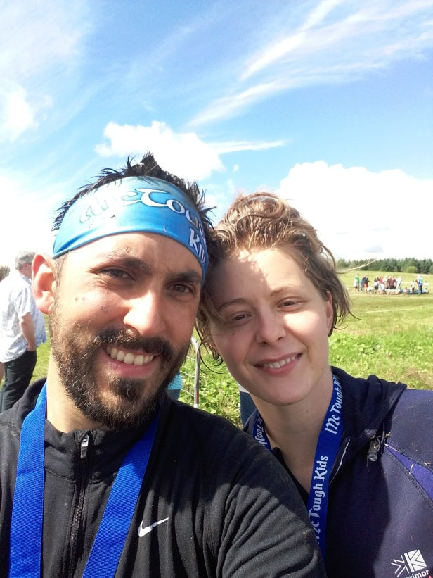Just two OCR newbies feeling good at completing their first event